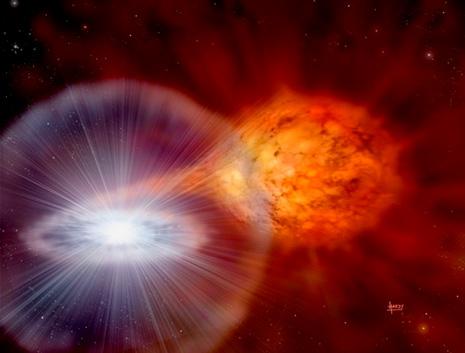 La formazione di una supernova di tipo Ia