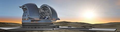 L'Extremely Large Telescope dell'ESO che sorgerà a Cerro Amazones nel Cile