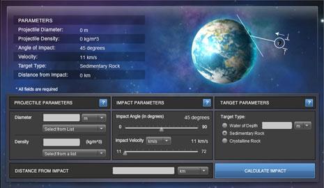 Immagine del simulatore in azione