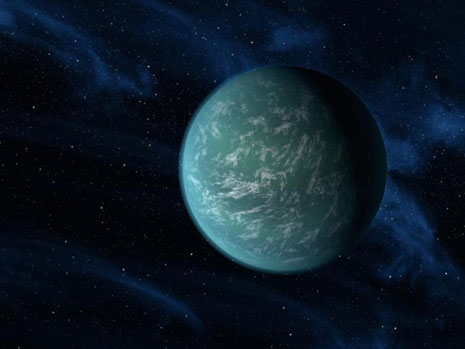 Rappresentazione artistica di Kepler-22b