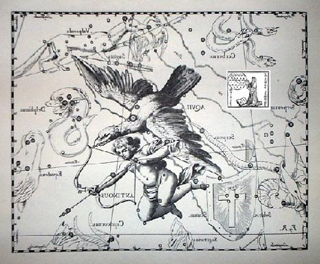 l'Aquila secondo Hevelius