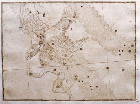 l'Aquila secondo l'Uranometria