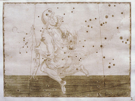 l'Auriga secondo l'Uranometria