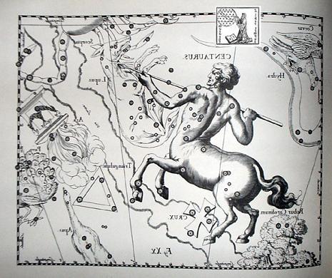 il Centauro secondo Hevelius