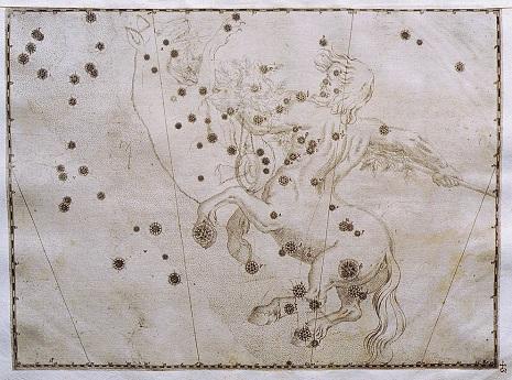 il Centauro nell'Uranometria