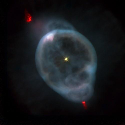 "la nebulosa detta ""The Ghost of Jupiter"""