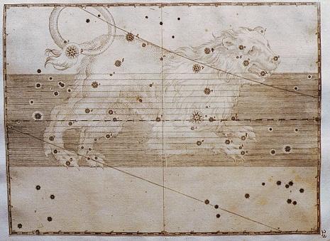 il Leone nell'Uranometria