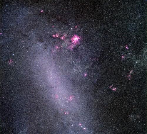 la LMC, Large Magellanic Cloud