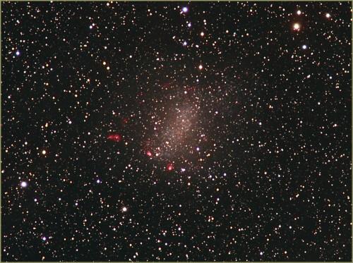 una piccola galassia: NGC 6822