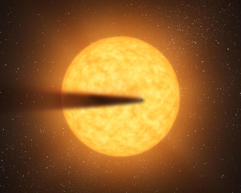 "il sistema planetario ""polveroso"""