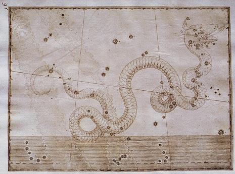 il Serpente nell'Uranometria