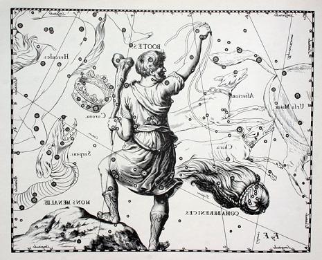 Bootes secondo Hevelius