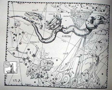 l'Idra secondo Hevelius