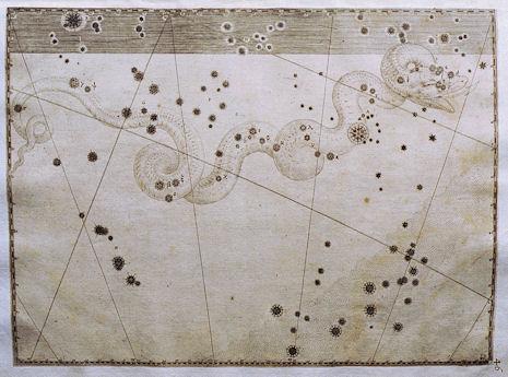 l'Idra secondo l'Uranometria