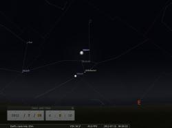 nella stessa zona di cielo c'è anche Venere