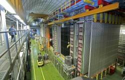 L'apparato per l'osservazione dei neutrini tau