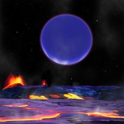 Kepler-36c visto da Kepler-36b