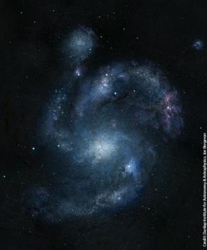 antica galassia a spirale