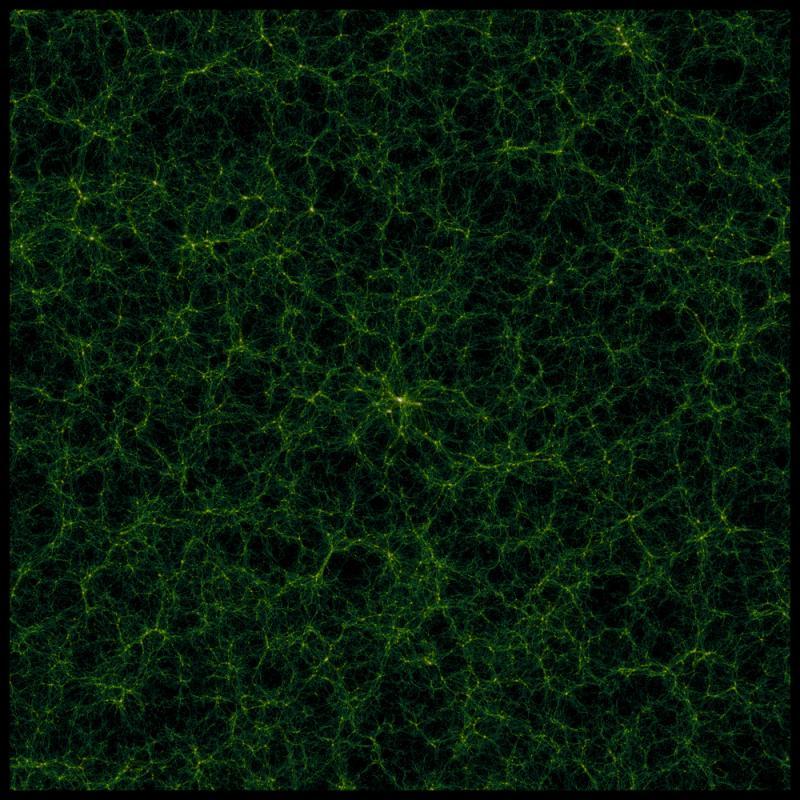 distribuzione della materia nell'Universo