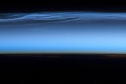 le nubi viste dall'ISS