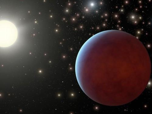 un pianeta gigante nel Presepe