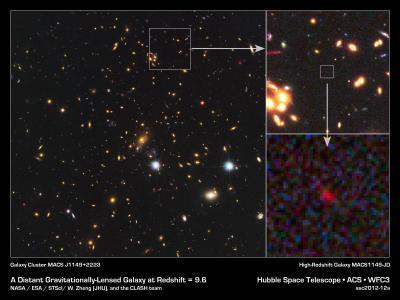 la galassia più giovane