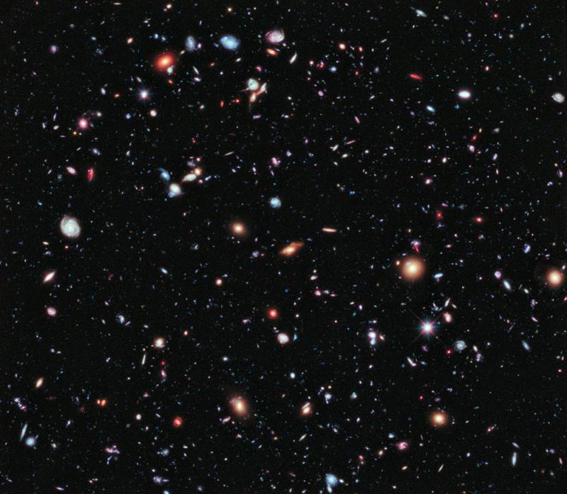 XDF di Hubble