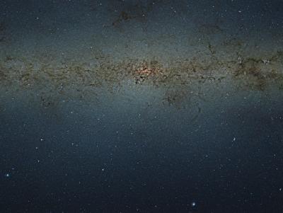 l'immagine di VISTA relativa al bulge galattico