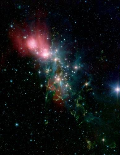 la strana nebulosa NGC 1333