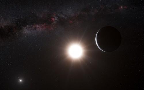 il pianeta di Alpha Centauri B