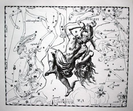Perseo secondo Hevelius