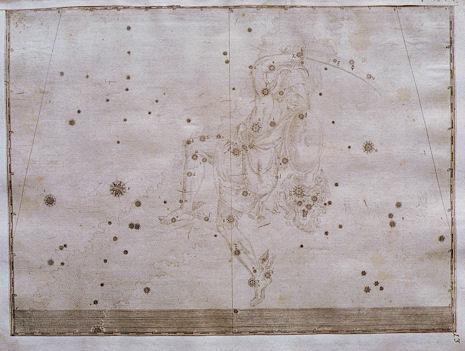 Perseo nell'Uranometria