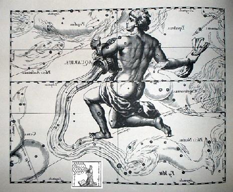 l'Aquario secondo Hevelius