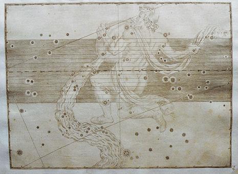 l'Aquario secondo l'Uranometria