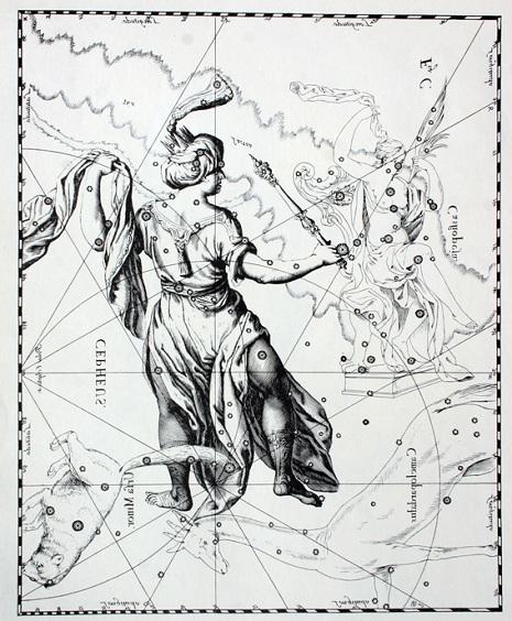 Cefeo secondo Hevelius