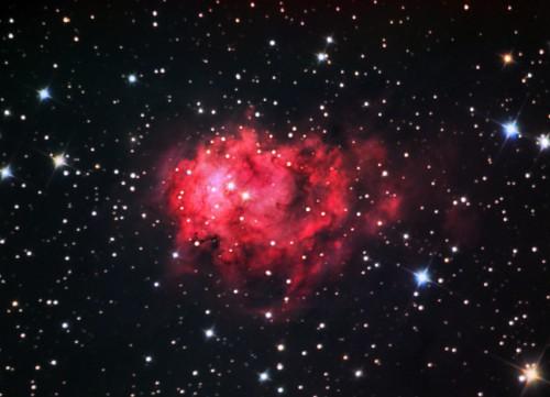 la nebulosa NGC 7538