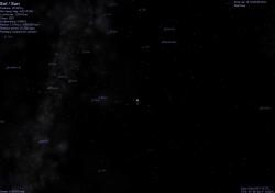 il Sole visto da HIP 117712