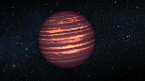 la superficie di una nana bruna
