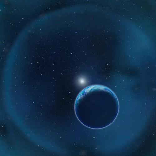 la Terra attorno a una nana bianca