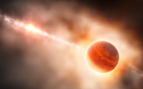 un pianeta in formazione