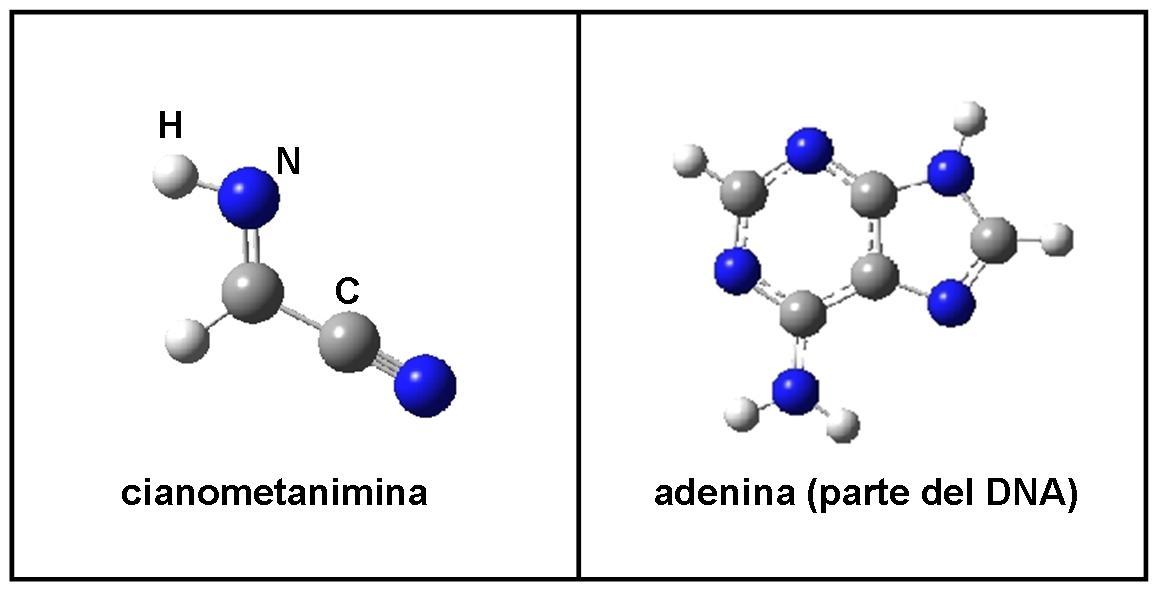 molecola complessa nello spazio