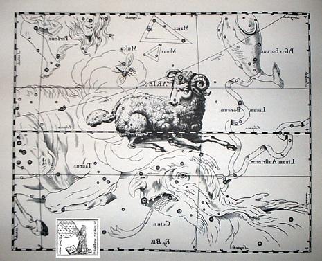 l'Ariete secondo Hevelius