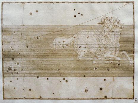 l'Ariete nell'Uranometria