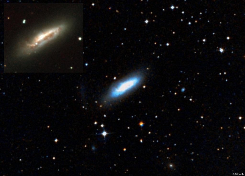 la galassia a spirale NGC 1511