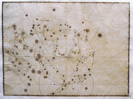il Pavone nell'Uranometria