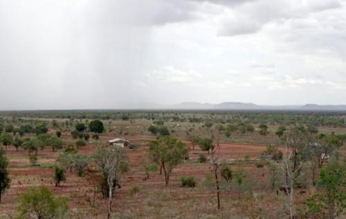 una ex zona arida dell'Australia