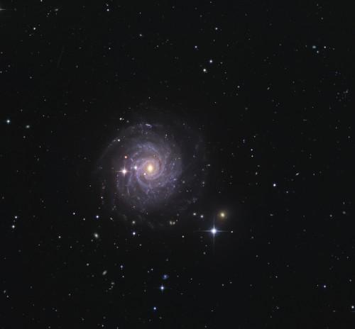 la galassia $NGC$ 3344