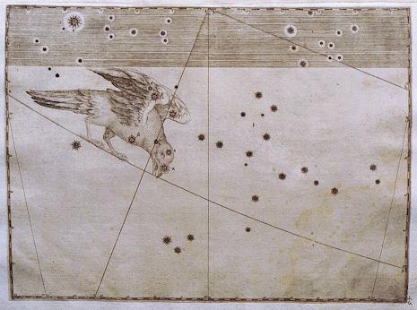 il Corvo secondo l'Uranometria