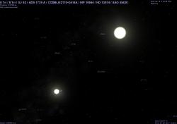 il sistema binario di δ Tri