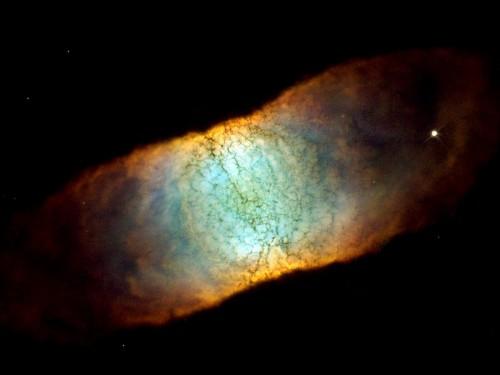 la bella Retina Nebula